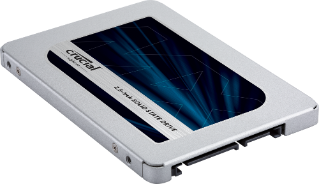 "Жесткий диск SSD 500Gb Crucial MX500 (CT500MX500SSD1) (SATA-6Gb/s, 2.5"", 560/510Mb/s)"