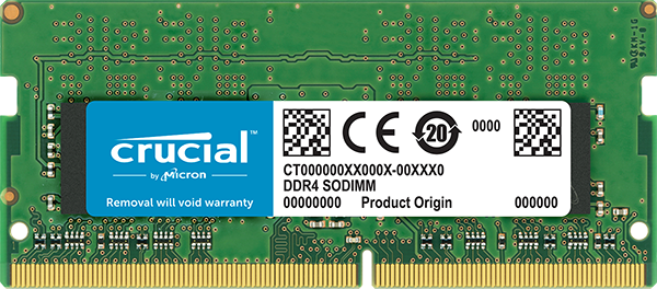 Модуль памяти 4Gb Crucial CT4G4SFS824A 2400 PC-19200 17-17-17 1.2V