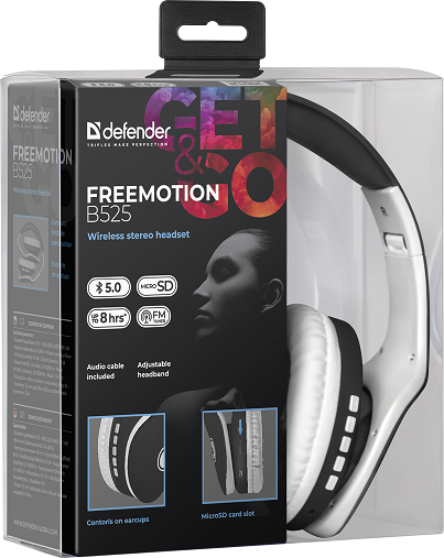 Наушники Defender FreeMotion B525 (63525)