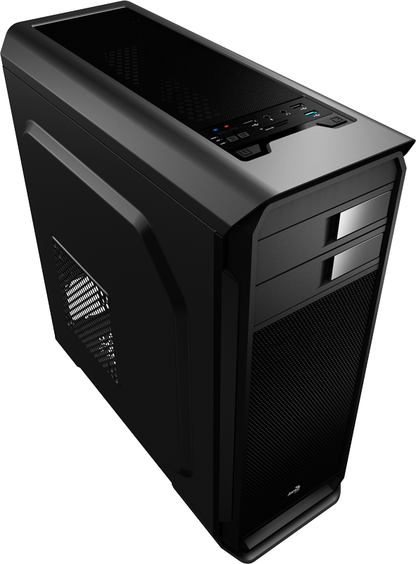 Корпус AeroCool Aero-500 600W Black (Bigtower, ATX, USB 3.0, Fan)