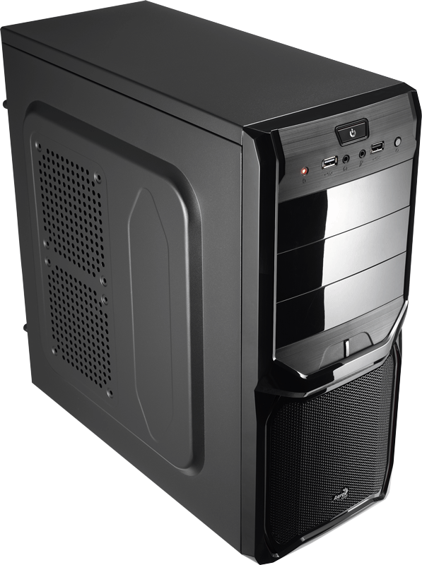 Корпус Aerocool V3X Advance Black Edition (Miditower, ATX, USB3, Fan)