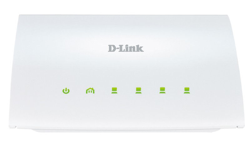 PowerLine-адаптер D-Link DHP-346AV (200Mbit/s, 4xLAN)