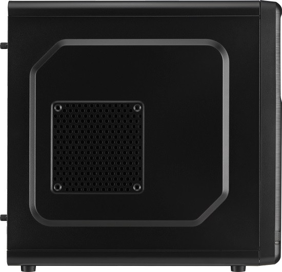 Корпус Aerocool Qs-182 Black Minitower microATX USB3 Fan