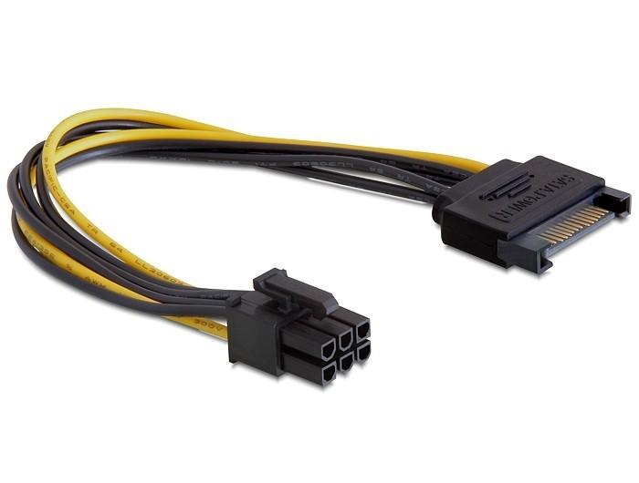 Кабель Gembird CC-PSU-SATA (6 pin for PCI-Express)