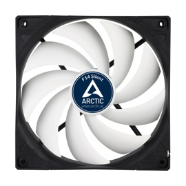 Вентилятор Arctic Cooling F14 Silent (ACFAN00076A) Black/White (140mm, 800rpm, 46CFM, 20dBa, FDB, 3-pin)