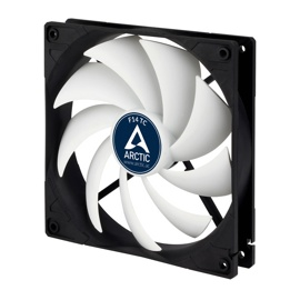 Вентилятор Arctic Cooling F14 TC (ACFAN00081A) Black/White (140mm, 400-1350rpm, 74CFM, 22.5-24.5dBa, FDB, 3-pin)