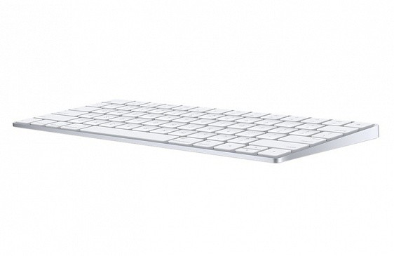 Клавиатура Apple Magic Keyboard MLA22RU/A White USB