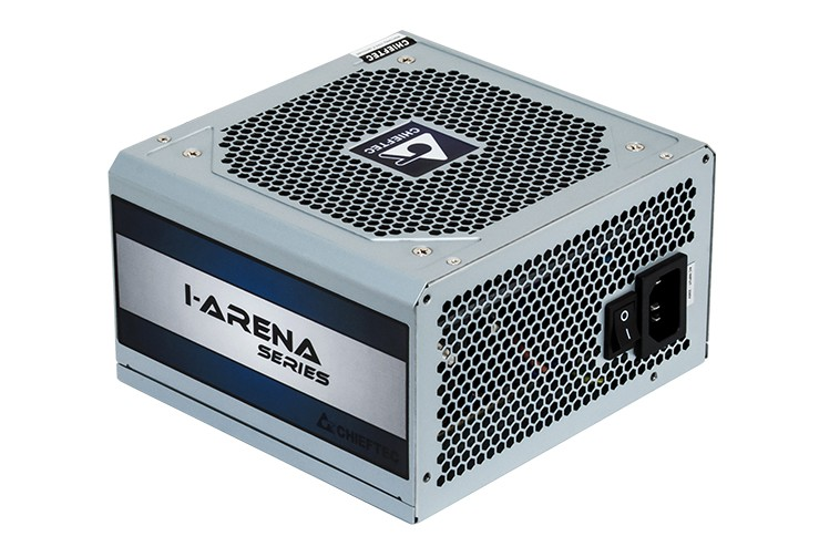 Блок питания 500W Chieftec New iArena GPC-500S (120mm, 24+4pin, 6/8pin, 2xMolex, 4xSATA)