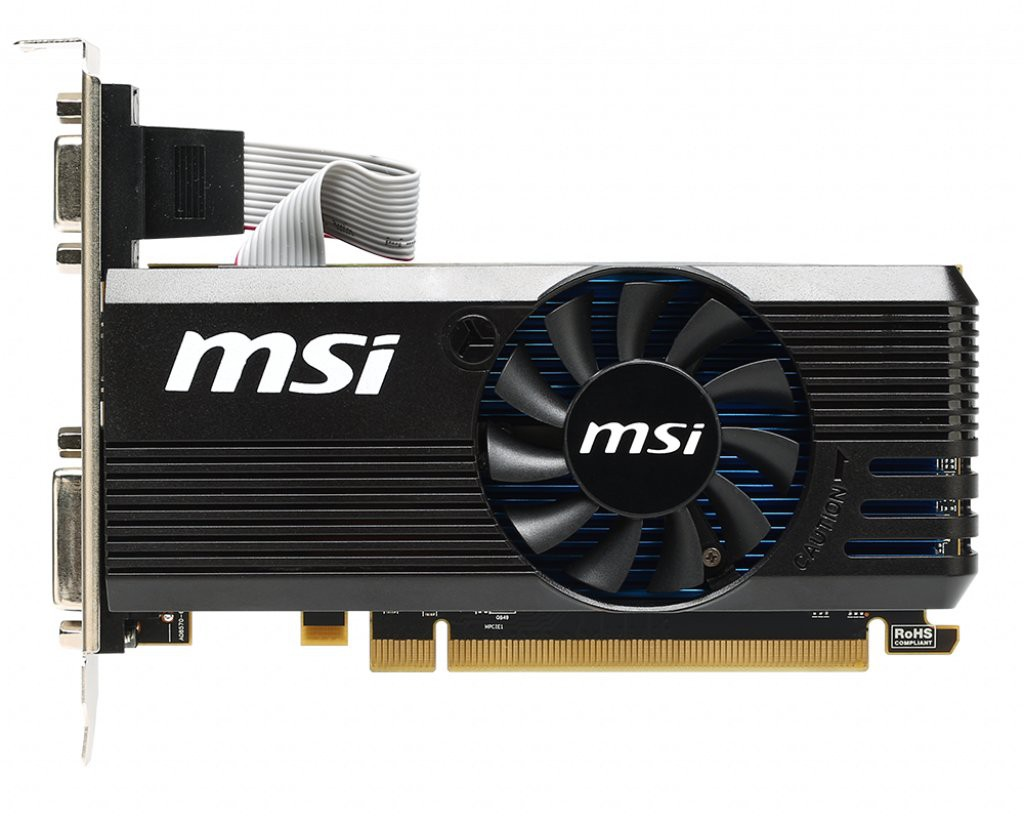 Видеокарта 240 MSI RADEON R7 240 2GD3 LP 2Gb DDR3 128bit 730(780)/1800MHz