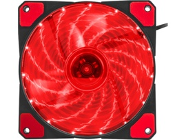 Вентилятор Genesis Hydrion 120 (NGF-1166) (120мм, 1000rpm, 42.1CFM, 18.8dBa, Red Led, 3-Pin/4-Pin (Molex))