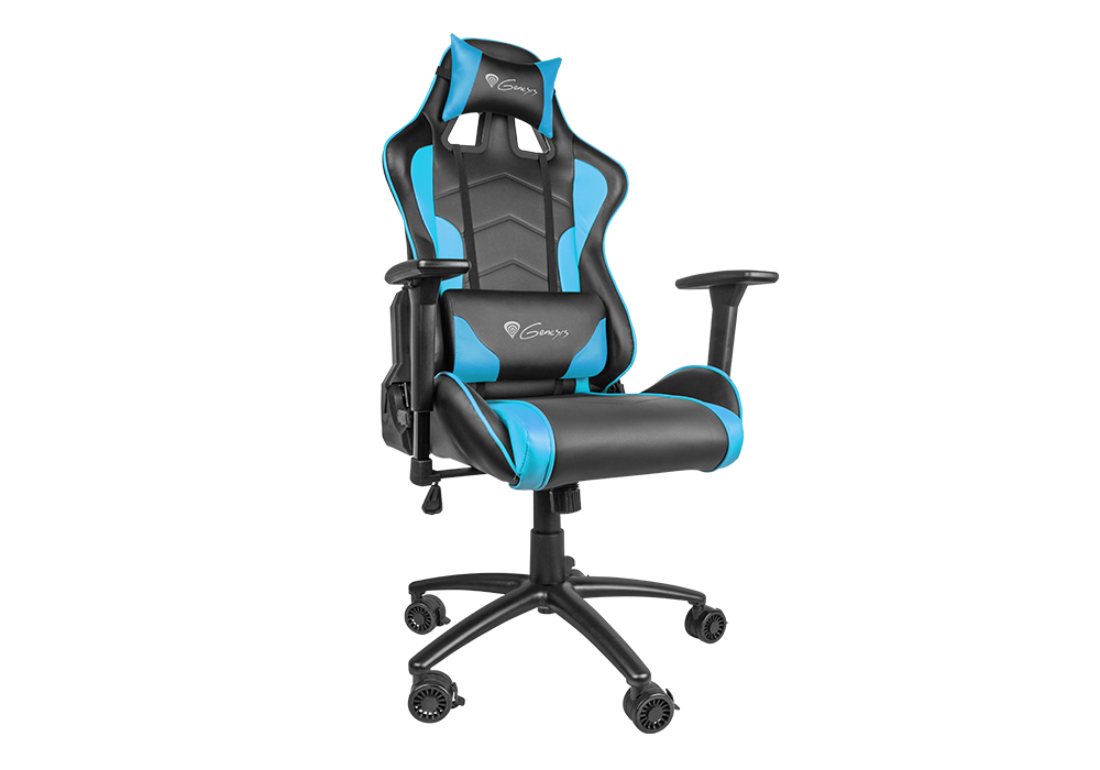 Игровое кресло Genesis NITRO 880 (NFG-0786) Gaming Black-Blue