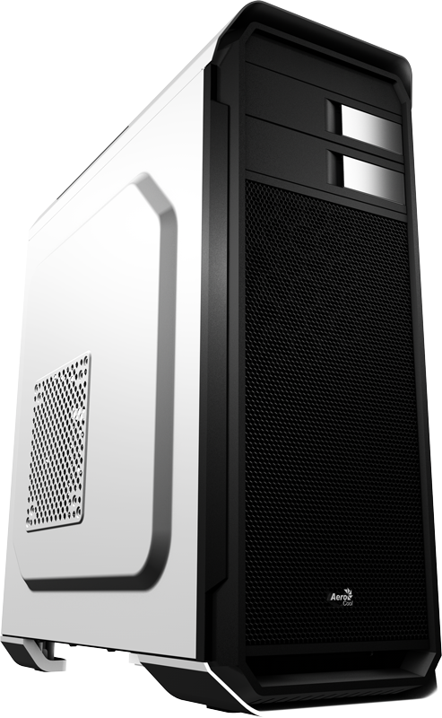 Корпус Aerocool Aero-500 White (Bigtower, ATX, USB 3.0, Fan)