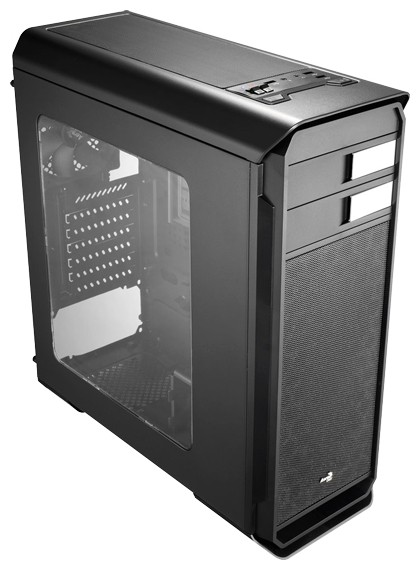 Корпус AeroCool Aero-500 Window Black (Bigtower, ATX, USB 3.0, Fan, Window)