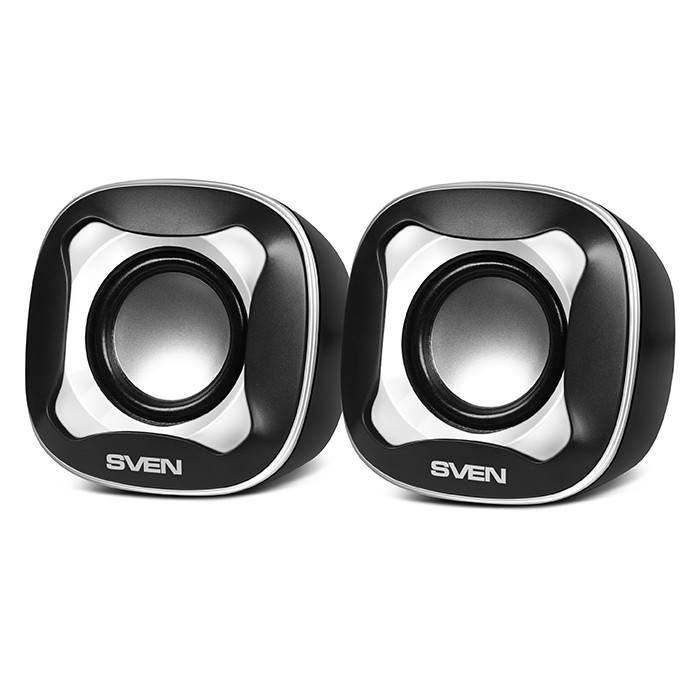 Колонки 2.0 Sven 170 Black-White (2x2.5W) USB