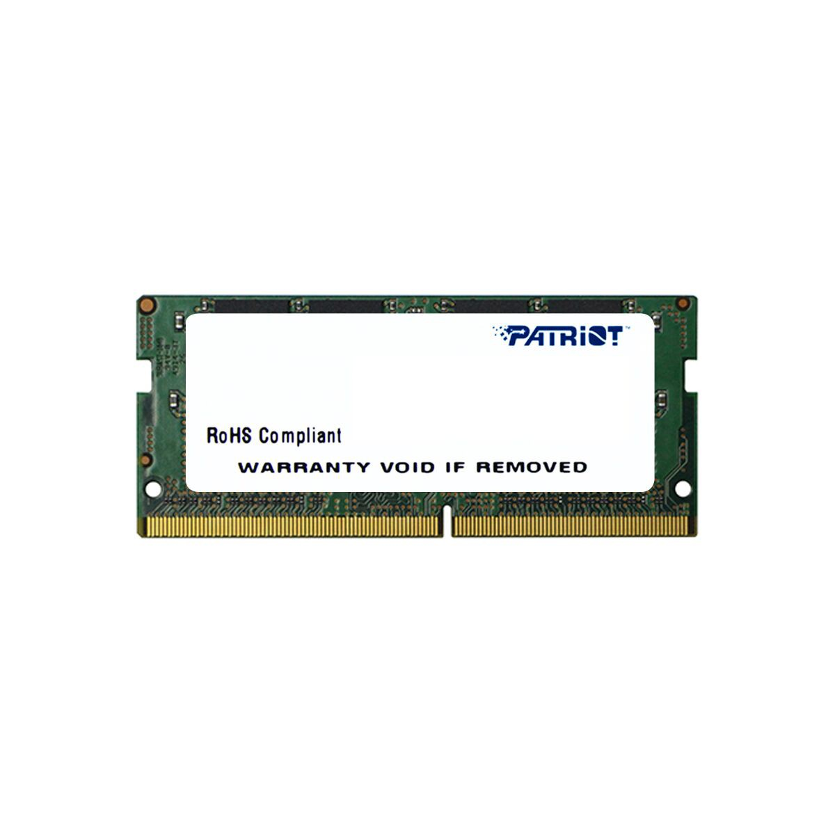 Модуль памяти 4Gb Patriot PSD44G240041S 2400MHz PC-19200 17-17-17 1.2V