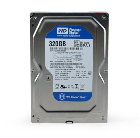 Жесткий диск 320Gb Western Digital WD3200AAJS (SATA-II 8MB 7200RPM)