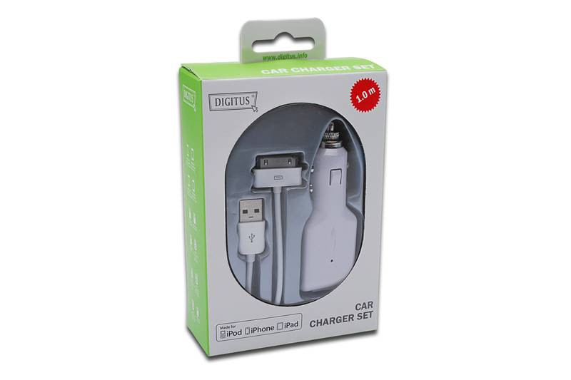 �������� ���������� Digitus DB-600900-010-W Apple kit car charger