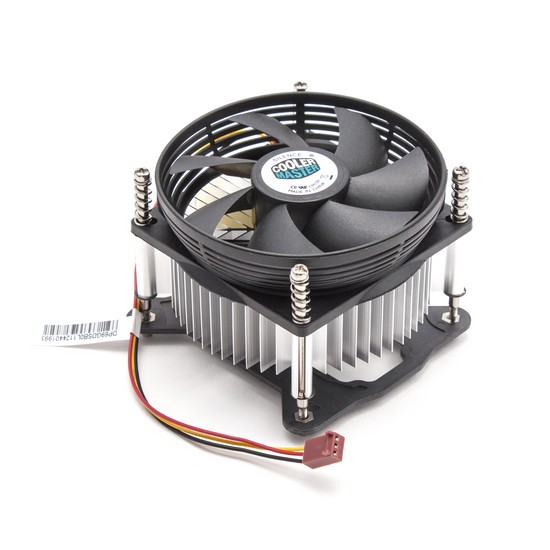 Вентилятор Cooler Master DP6-9GDSB-0L-GP (2600rpm, 25dB, 27.61CFM, 3pin, 65W) (Soc1150/1151)