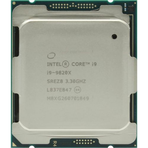 Процессор Intel Core i9-9820X (BOX) (BX80673I99820X) 3.3(4.2)GHz, 10 ядер / 20 потоков, 16.5Mb, 165W (Socket 2066)