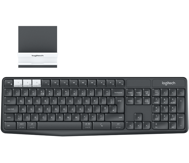 Клавиатура Logitech K375s Multi-Device (920-008184) Black