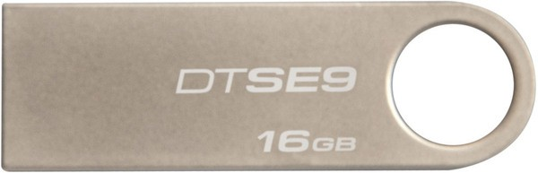 USB flash disk 16Gb Kingston DataTraveler SE9 16Gb (DTSE9H/16GB) Silver