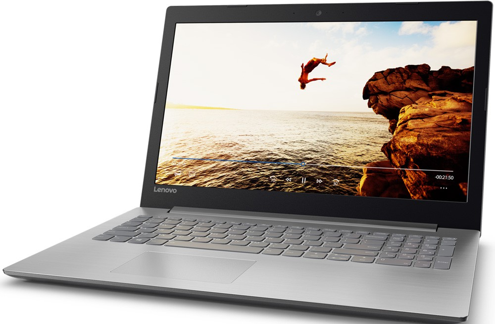 "Ноутбук Lenovo IdeaPad 320-15IKBN (80XL0022RU) Grey 15.6"" (1920x1080)/ Core i7-7500U/ 8Gb/ 1Tb/ GeForce 940MX 2Gb/ DOS"