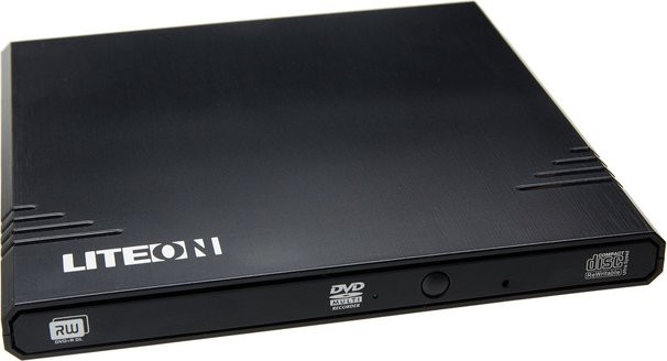 Внешний DVD+/-RW Lite-On eBAU108-11 Black USB 2.0
