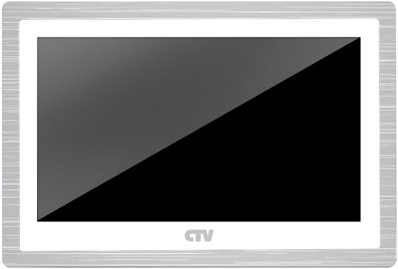 "Видеодомофон CTV M4103AHDW (цв. AHD 10"" Hands free, Touch Screen, автоответчик, microSD, белый)"