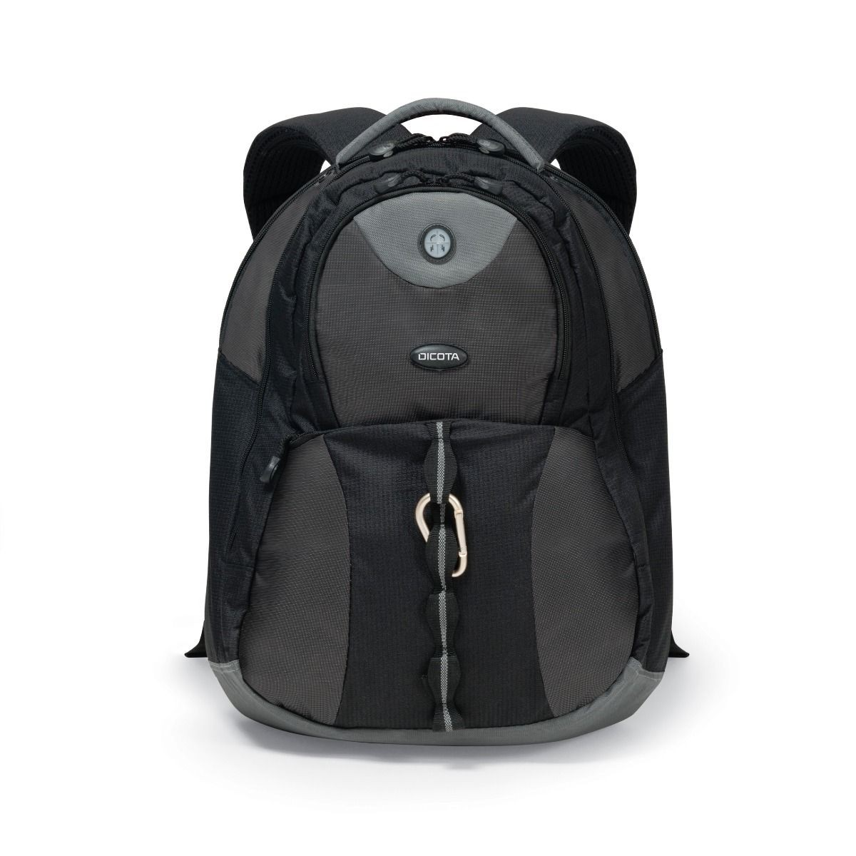 Рюкзак для ноутбука Dicota BacPacMission XL (N14518N) 15-17.3 Black/Grey