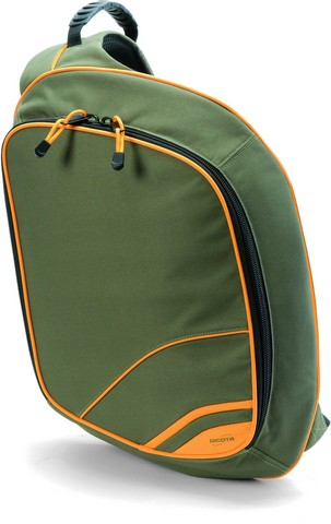 Сумка для ноутбука Dicota Cross.Over N16268P Olive\Orange 15.4""