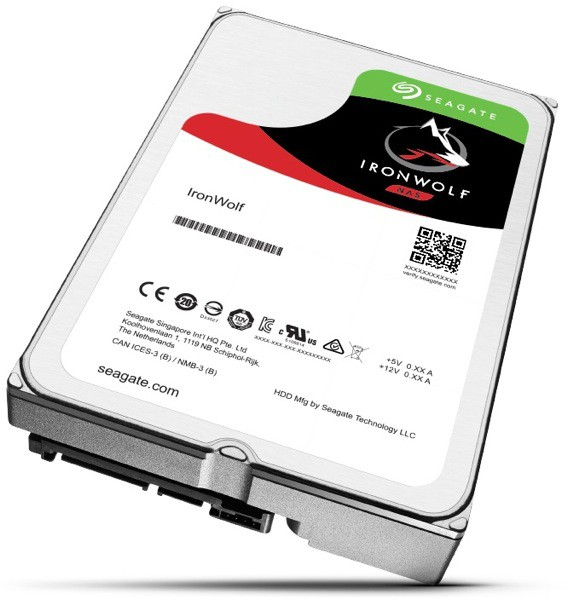 Жесткий диск 1Tb Seagate Ironwolf ST1000VN002 (SATA-6Gb/s, 5900rpm, 64Mb)