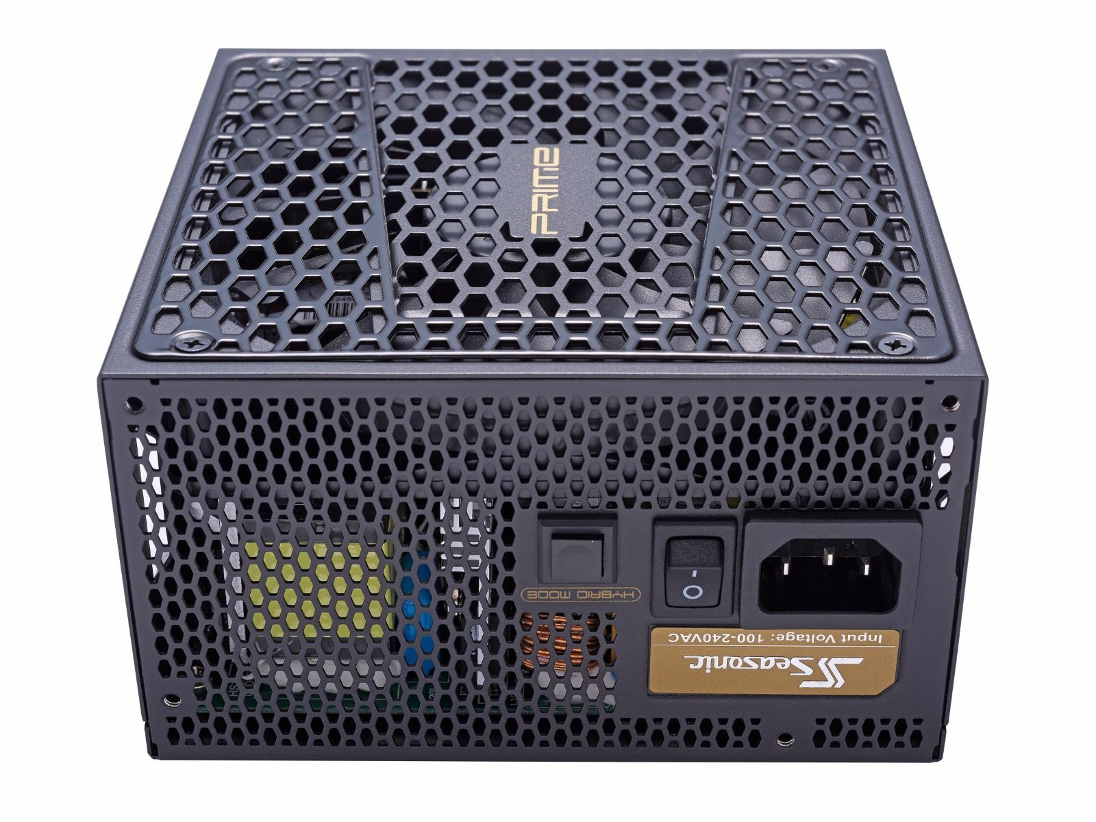 Блок питания 550W Seasonic Prime Ultra Gold (SSR-550GD2) (135мм, 24+8pin, 2x6/8pin, 6хSATA, 3xMolex, 80 PLUS Gold)