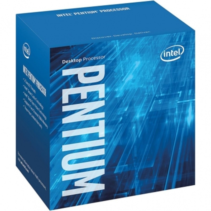 Процессор Intel Pentium G4560 (BOX)  (3.5GHz, 2core, 3Mb, HD Graphics 610, 54W) (Socket 1151)