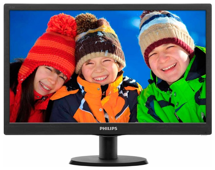"Монитор 18.5"" Philips 193V5LSB2/10 Black (1366x768, D-Sub)"
