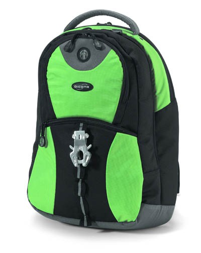 "Рюкзак для ноутбука Dicota BacPac Mission N11638N 15.6"" Lime Green"