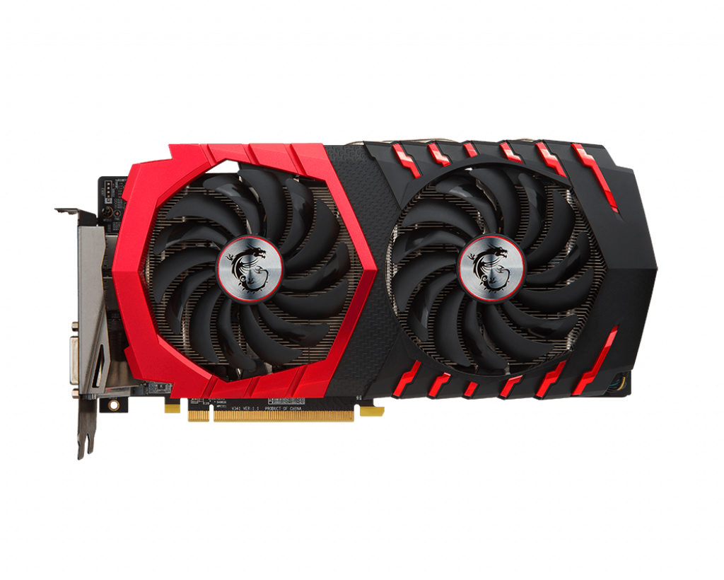 Видеокарта 470 MSI RX 470 GAMING X 4G 4Gb DDR5 256bit 1206(1254)/6700MHz (OEM)