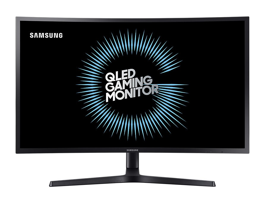"Монитор 27"" Samsung C27HG70QQI Black (2560х1440, 144Гц, VA, Flicker free, HDMI, DisplayPort, 2x USB 3.0, Pivot, изогнутый)"