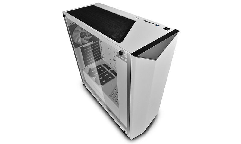 Корпус Deepcool EARLKASE RGB (DP-ATX-ERLKWH-GLSRGB) White (Miditower, ATX, USB3, Fan, Window, RGB)