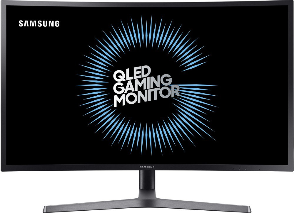 "Монитор 31.5"" Samsung C32HG70QQI Black (2560x1440, VA, Flicker free, 144 Гц, FreeSync, HDMI, DisplayPort, Pivot, 2x USB 3.0, изогнутый)"