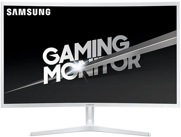 "Монитор 31.5"" Samsung C32JG51FDI White (1920x1080, VA, 144 Гц, Flicker free, HDMI+DisplayPort, изогнутый)"