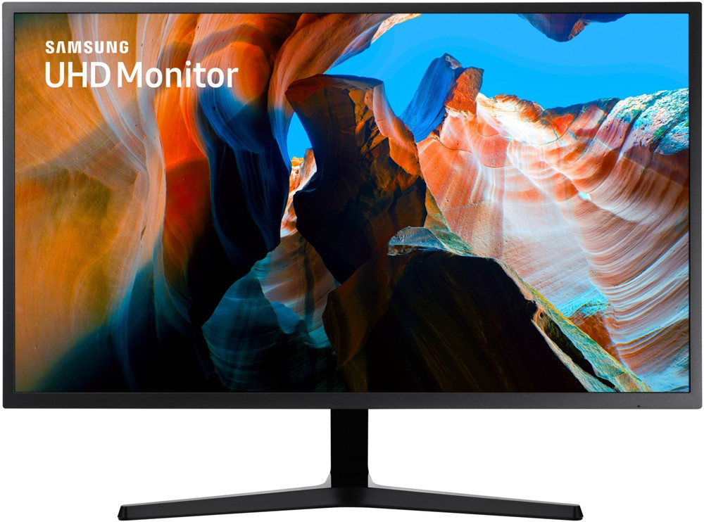 "Монитор 31.5"" Samsung U32J590UQI Dark Grey (3840x2160, VA, Flicker free, FreeSync, DisplayPort, HDMI)"