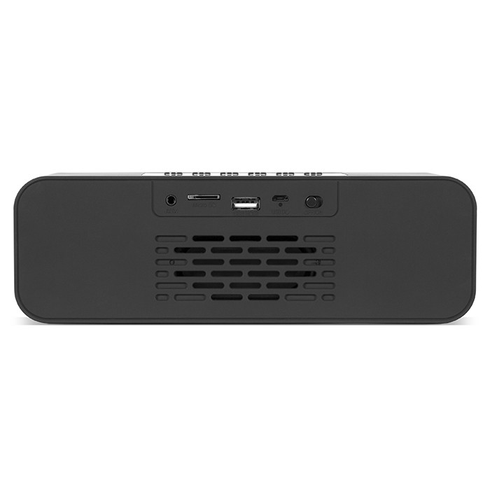 Колонки Sven PS-175 Black (10W, Bluetooth, FM, USB, аккумулятор, часы)
