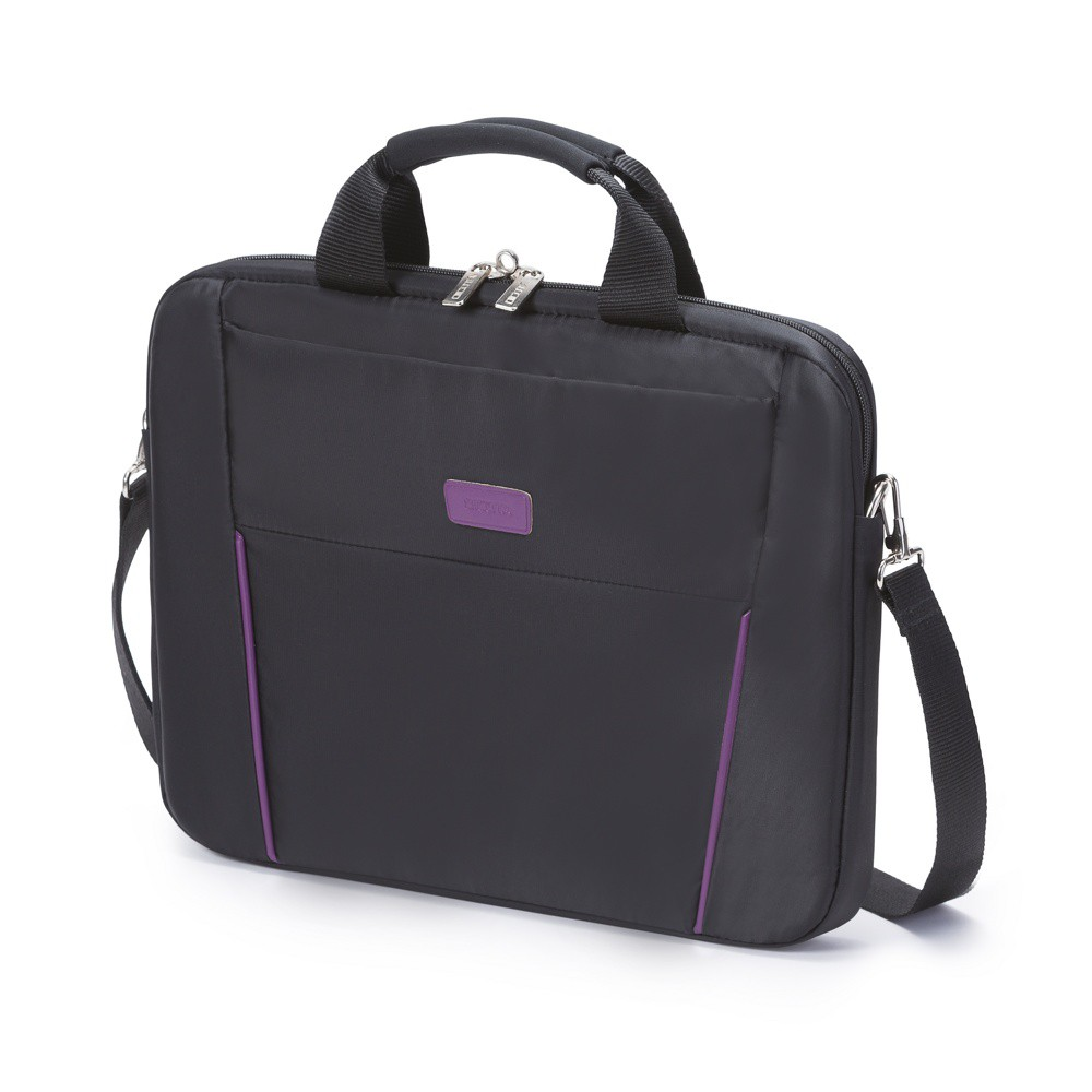"����� ��� �������� Dicota Base Slim 14-15.6"" (D31000) Black/Purple"