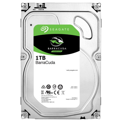 Жесткий диск 1Tb Seagate Barracuda ST1000DM010 (SATA-6Gb/s, 7200rpm, 64Mb)
