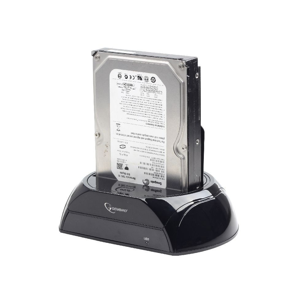 "Док-станция для HDD Gembird HD32-U3S-2 (2.5/3.5"" SATA hdd, USB3.0)"