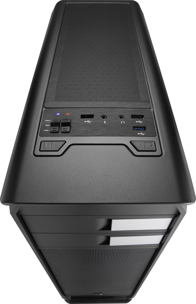 Корпус AeroCool Aero-500 Black (Bigtower, ATX, USB 3.0, Fan)
