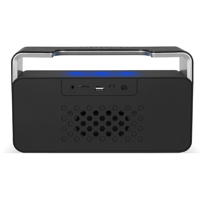 Колонки Sven PS-185 Black (10W, Bluetooth, FM, USB, аккумулятор, часы)