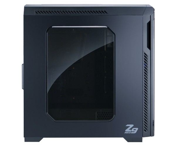 Корпус Zalman Z9 Neo Black (Miditower, ATX, USB 3.0, 5xFan, Window)