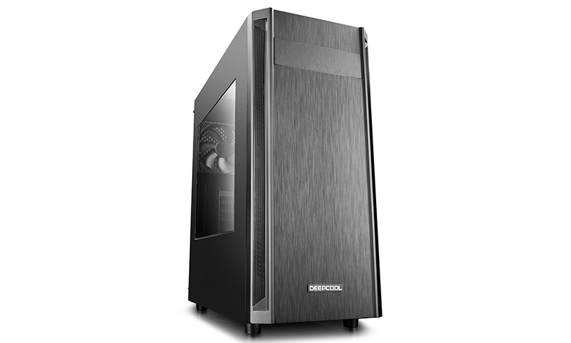 Корпус Deepcool D-SHIELD V2 (DP-ATX-DSHIELD-V2) Black (Miditower, ATX, USB3, Fan, Window)
