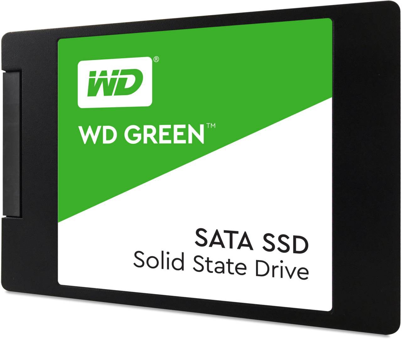 "Жесткий диск SSD 120Gb Western Digital Green (WDS120G2G0A) (SATA-6Gb/s, 2.5"", 540/430Mb/s)"